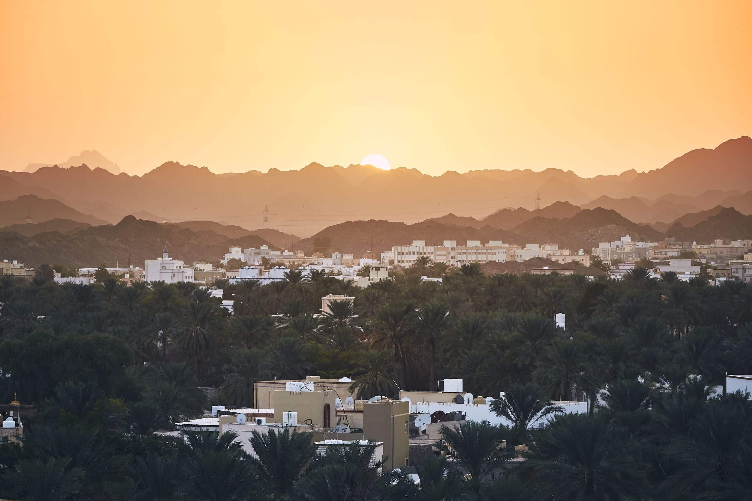 Sonnenaufgang Oman