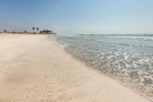 Strand in Oman