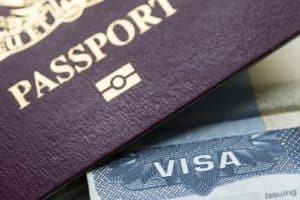 Nahaufnahme Reisepass